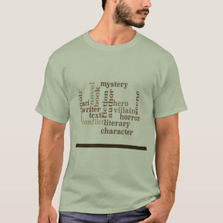 Writer/Author Word Cloud T-Shirt