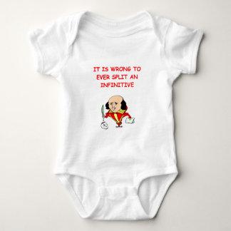 writer baby bodysuit