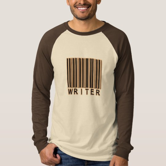 Writer Barcode T-Shirt