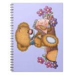 Writer Bear Spiral Notebook