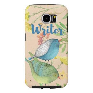 Writer | Birds in Nature | Samsung Galaxy S6 Case