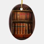 Writer - Books - The book cabinet Ornament