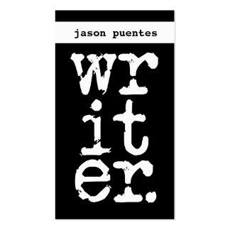 writer business card templates