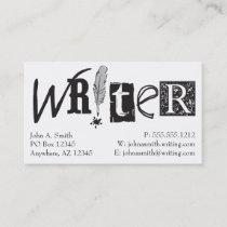 Writer Cards