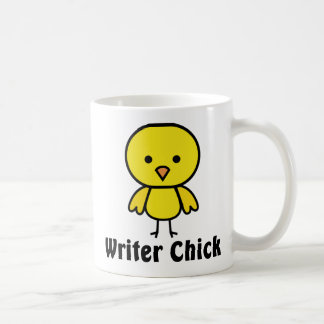 Writer Chick Coffee Mug