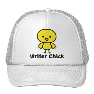 Writer Chick Trucker Hat