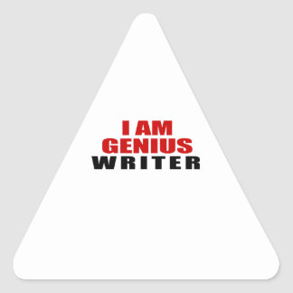 WRITER DESIGNS TRIANGLE STICKER