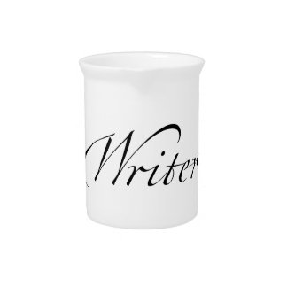 Writer Drink Pitcher