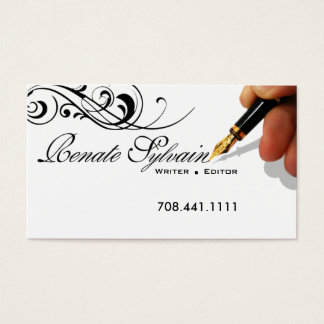 journalist journalism technical copywriter business cards