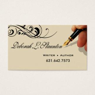 Writer Editor 1 Stylish Creative for Deborah Business Card