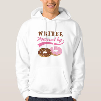Writer Gift (Donuts) Hooded Pullover