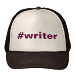 #writer (hat)