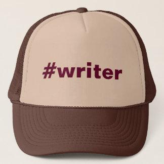 #writer (hat) trucker hat