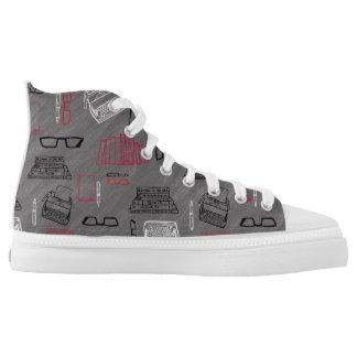 Writer High-Top Sneakers