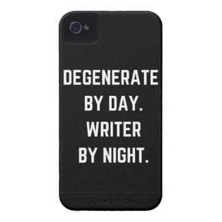 Writer Humor Degenerate Illustration Design Case-Mate iPhone 4 Case