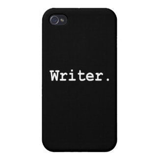 Writer. iPhone Case iPhone 4/4S Cover