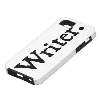 Writer. iPhone SE/5/5s Case