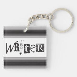 Writer Keychain