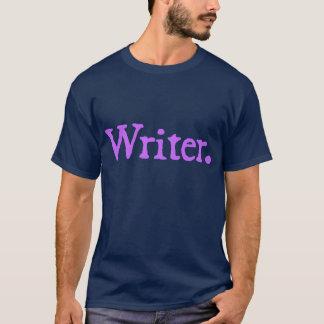 Writer (lavender lettering) T-Shirt