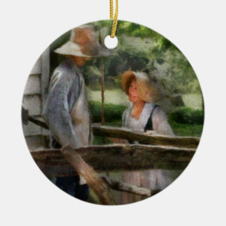Writer - Lover - The Courtship Christmas Ornament