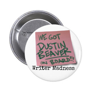 """Writer Madness"" Movie Round Button #2"