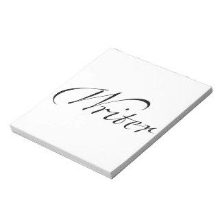 Writer Memo Notepad