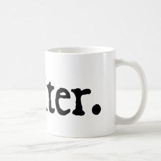 Writer. Classic White Coffee Mug