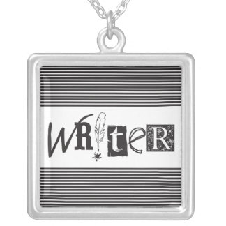 """""""WRITER"""" Necklace"""
