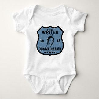 Writer Obama Nation Baby Bodysuit
