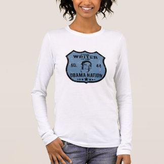 Writer Obama Nation Long Sleeve T-Shirt