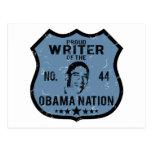 Writer Obama Nation Postcards
