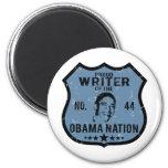 Writer Obama Nation Refrigerator Magnet