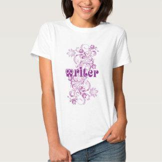 Writer Occupation Swirl Womens Tshirt Gift