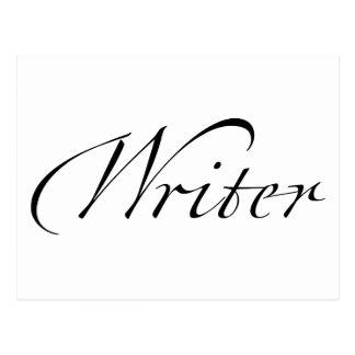 Writer Postcard