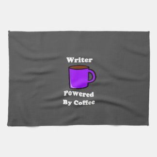 """Writer"" Powered by Coffee Hand Towel"