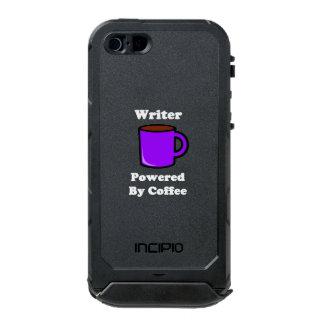 """Writer"" Powered by Coffee Waterproof iPhone SE/5/5s Case"