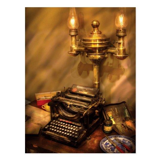 Writer - Remington Typewriter Postcard