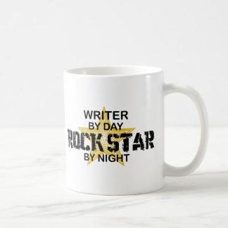 Writer Rock Star by Night Coffee Mug