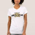Writer Rock Star by Night T-Shirt