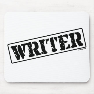 Writer Stamp Mouse Pad