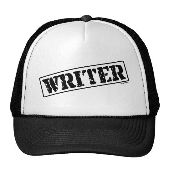 Writer Stamp Trucker Hat