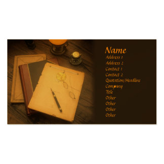 Writer Style Business Card