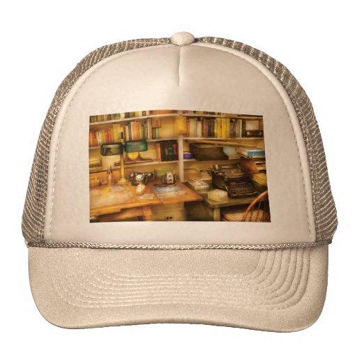 Writer - The desk of a writer Trucker Hat