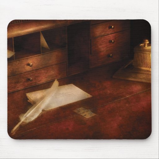Writer - The Writers Desk Mousepads