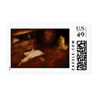 Writer - The Writers Desk Postage Stamp