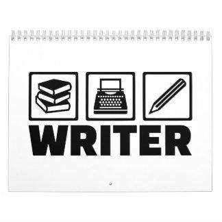 Writer tools calendar