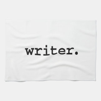 writer. towel