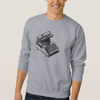 Writer -Type Writing Machine - Typewriter Sweatshirt