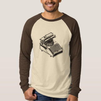 Writer -Type Writing Machine - Typewriter T-Shirt