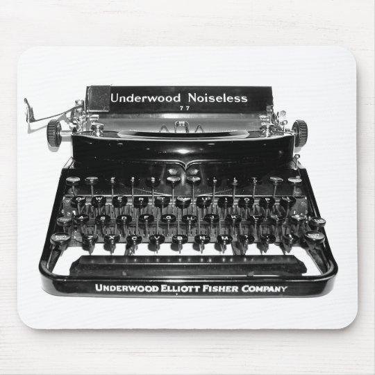 Writer Typewriter Mousepad - Customized